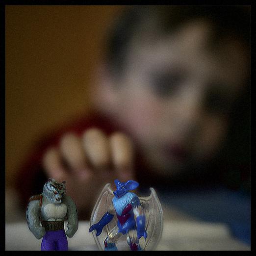 little heroes / petits herois