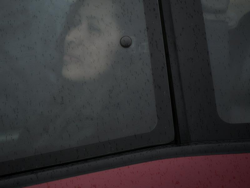 Ros, on a rainy day.