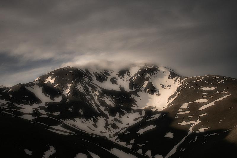 Puigmal i el núvol.