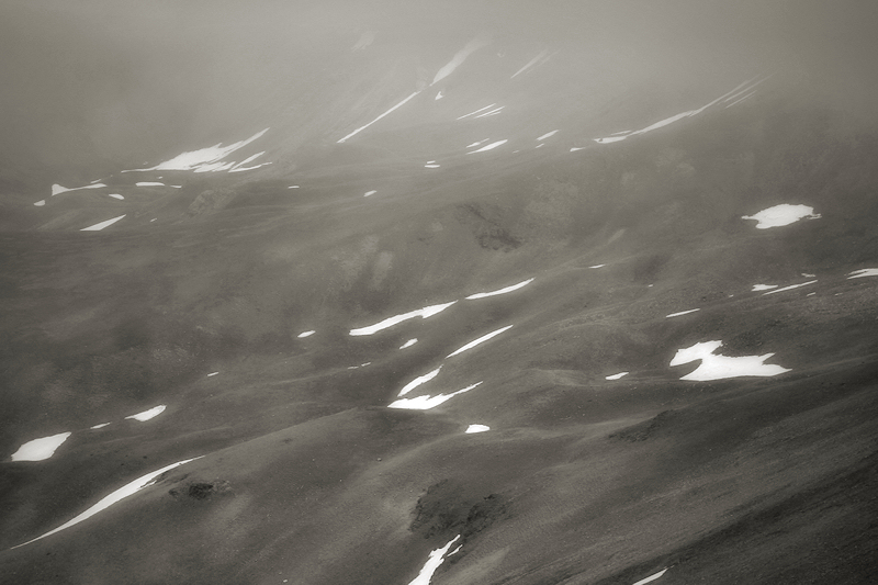 a foggy landscape / s'intueix un racó