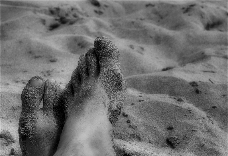 de vacances / on holidays (a naked self-portrait)