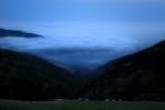 d'un capvespre sobre els nuvols / a sunset over the clouds
