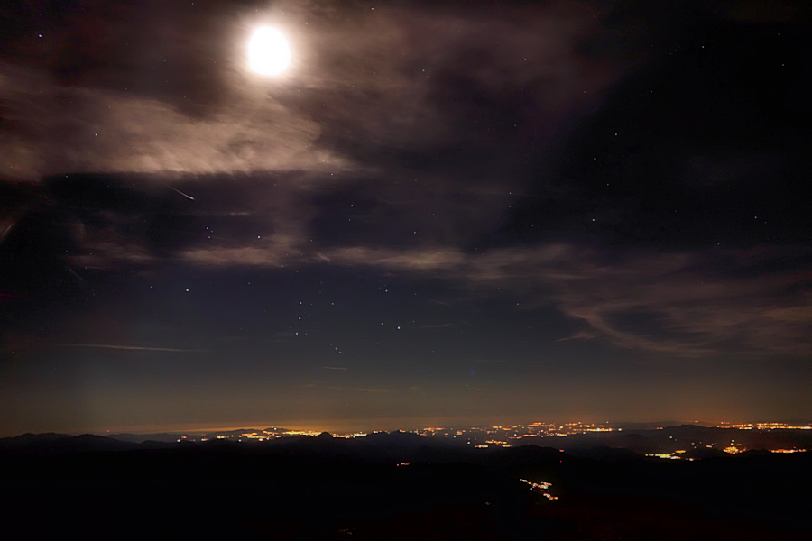 a night on the top / d'una nit als cims