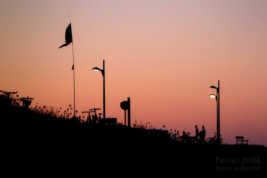 summer sunset / capvespre d'estiu