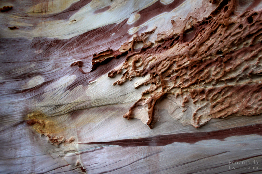 Art from nature (natural rock)