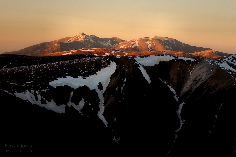 sunset landscapes / paisatges del capvespre
