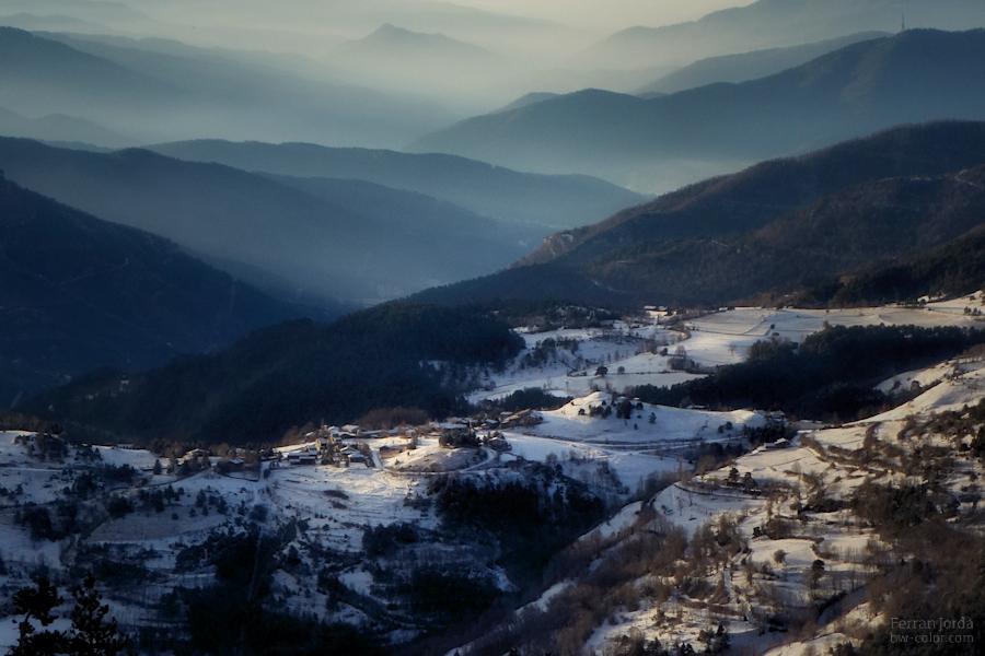 quan al matí, un hivern, surt el sol