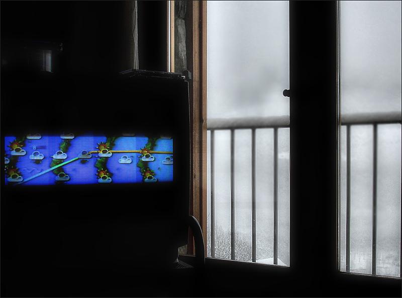 i diuen per la tele que ja no neva…