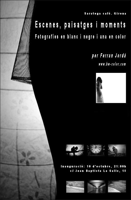 Exposició de fotografies a Girona