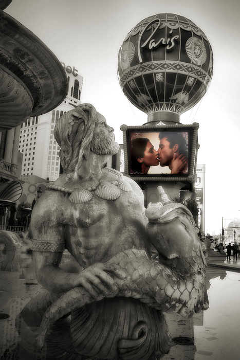 Unreal love in Paris
