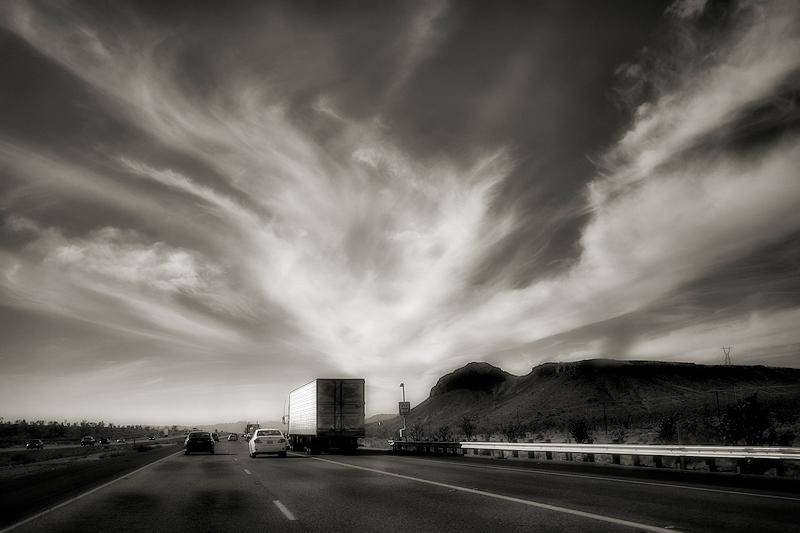 On the way to Las Vegas / Camí de Las Vegas