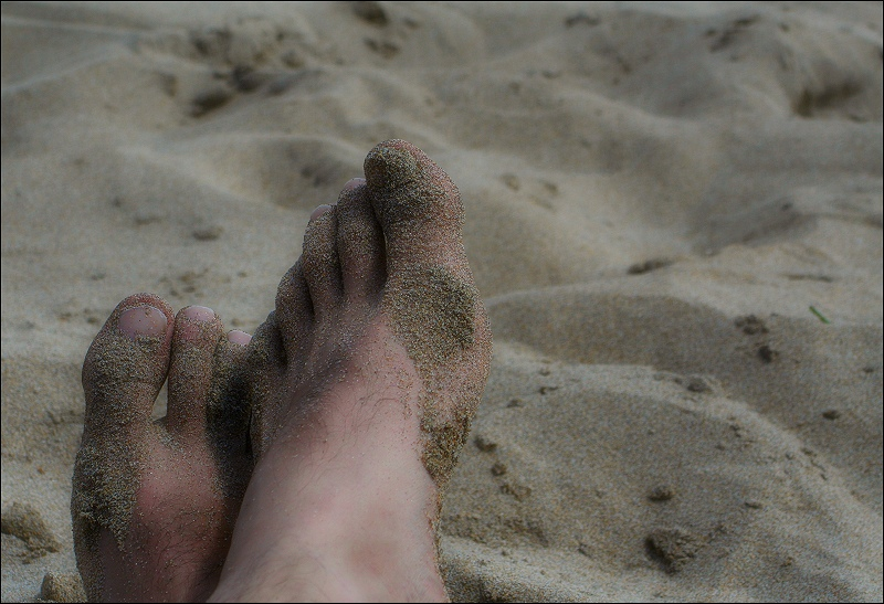 de vacances / on holidays (a naked self-portrait)