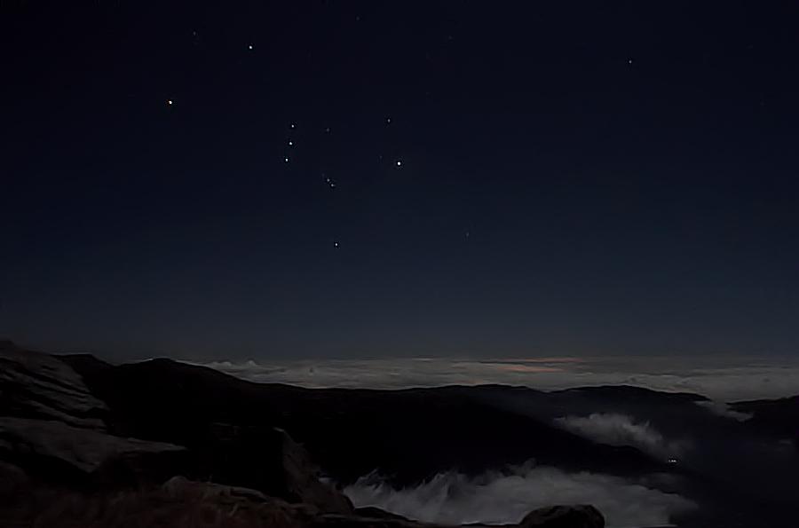 Sota la llum d'Orió / Orion nights