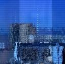 ciutat en un vidre /  city in a glass
