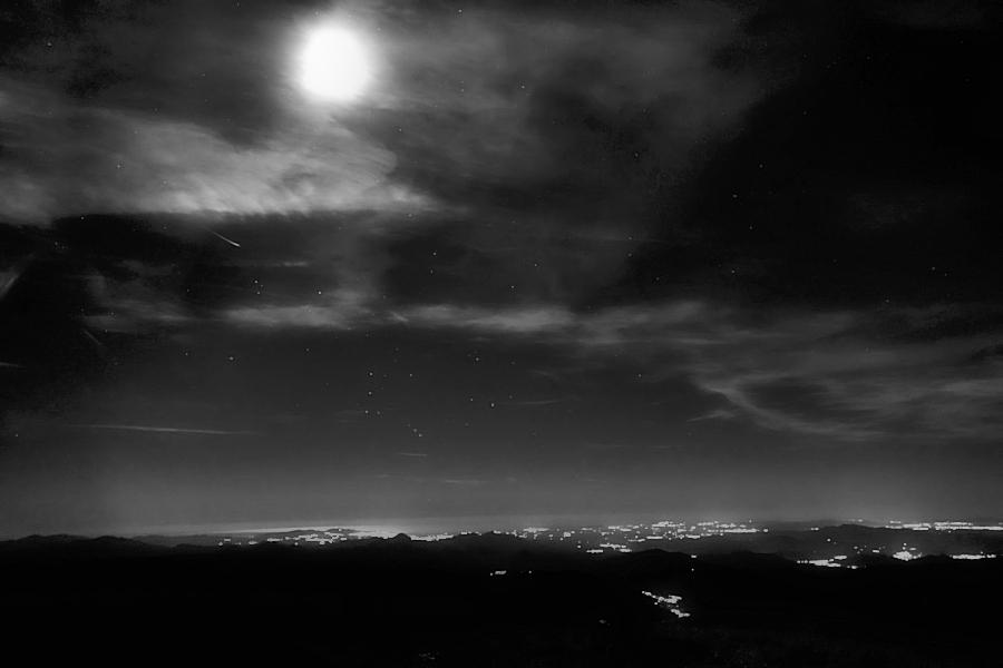 a night on the top / d'una nit als cims