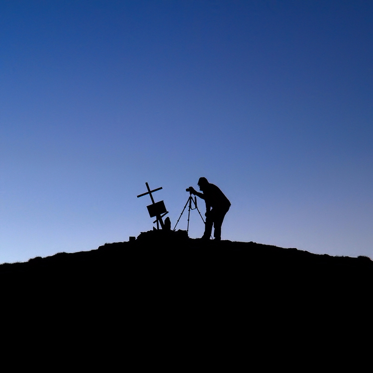 mountain photographer / el fotògraf de muntanyes