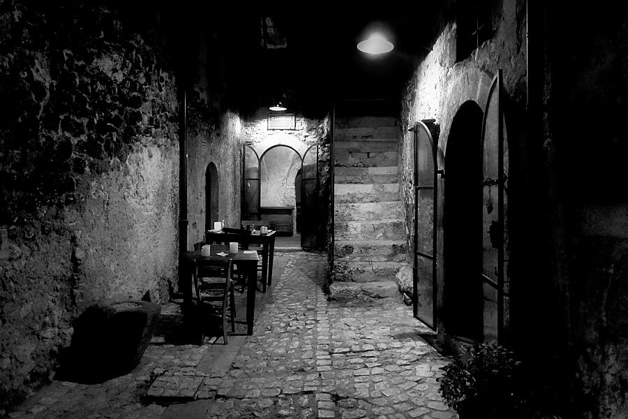 a corner to dinner / un racó per sopar