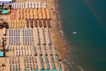 over the beach