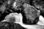 a river rock / una roca de riu