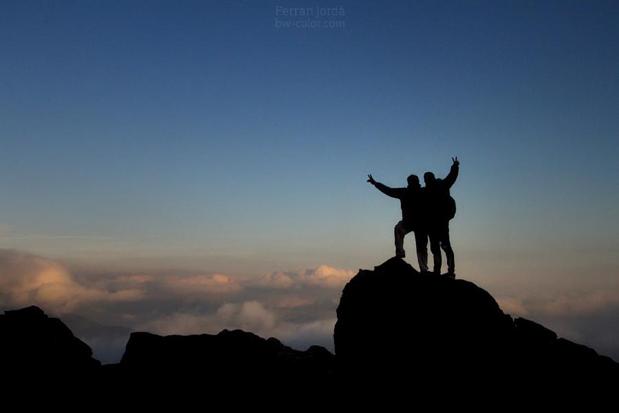 mountain friends / amics de la muntanya