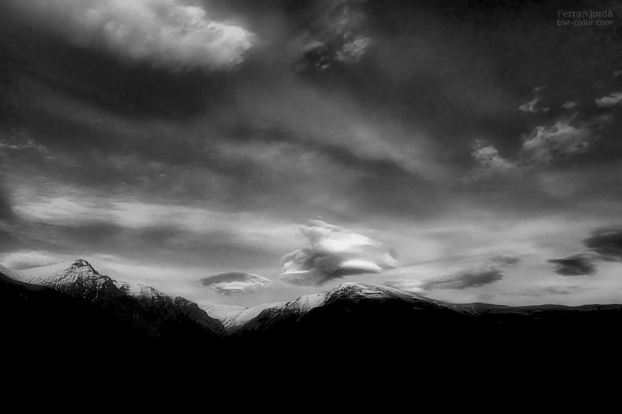 clouds at sunset / núvols al capvespre