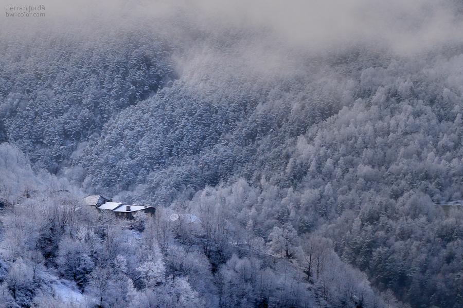 Fustanyà a l'hivern
