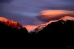 Balandrau i posta de sol