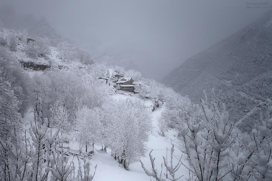 Can Constans, l'hivern