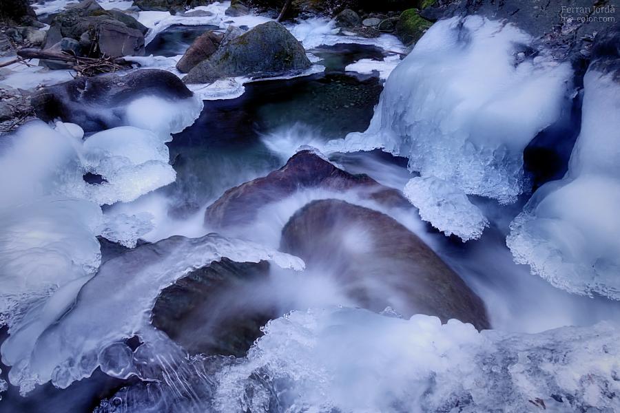 cors fluint en temps de fredors
