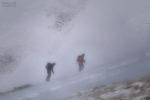 facing the blizzard / enfrontant-se al torb