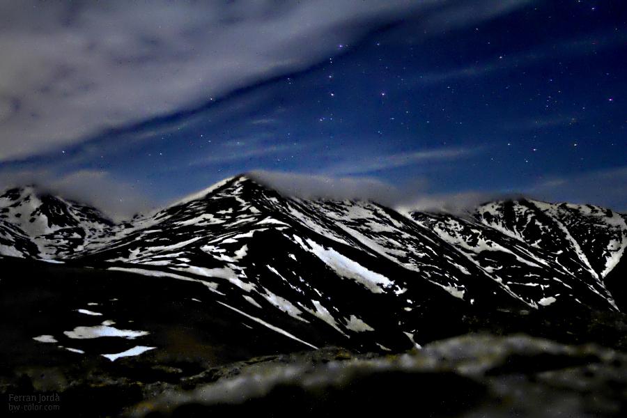 Balandrau i Fontlletera, de nit